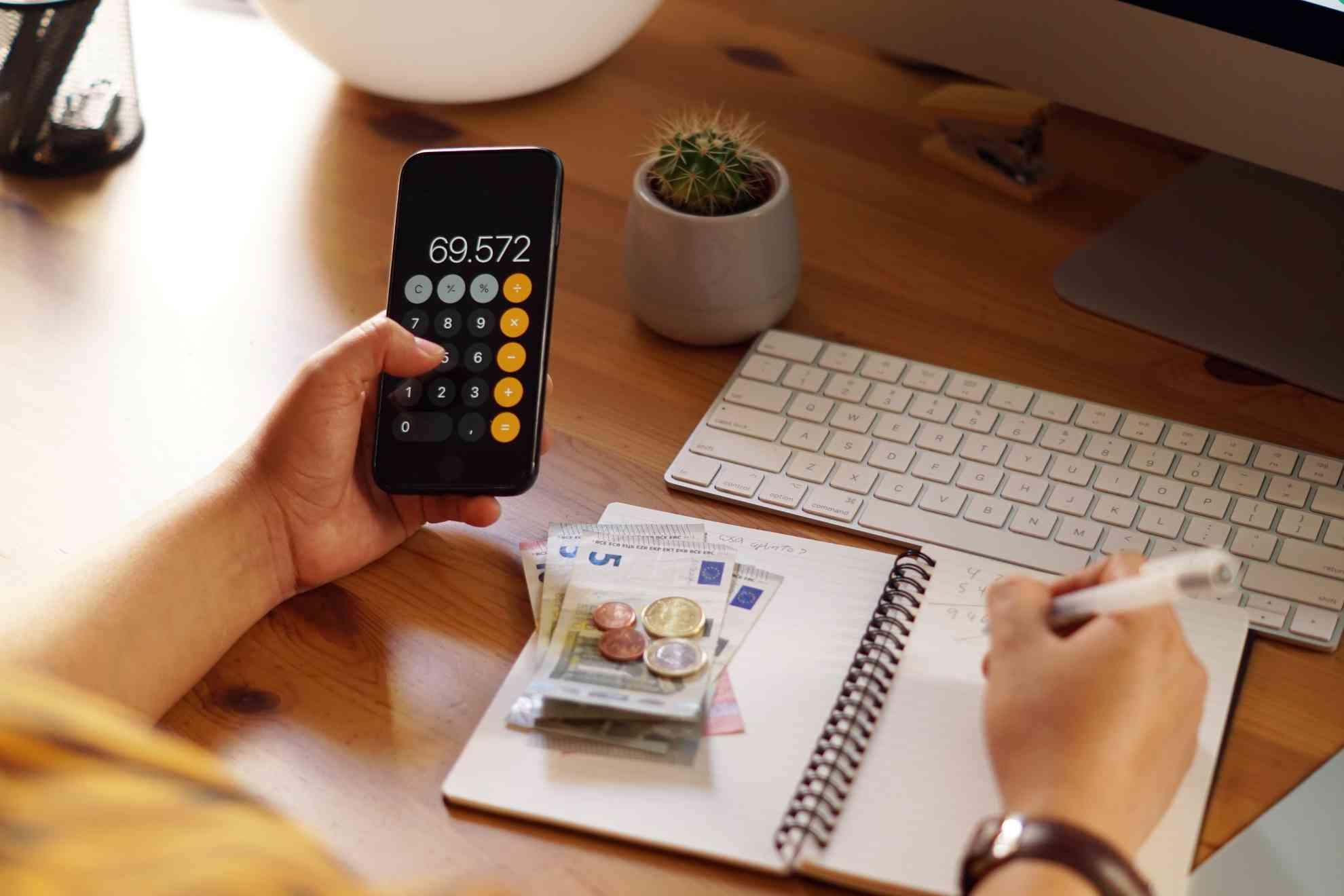 Finanzierungskonzept, Finanzierungsvergleich, Mieten oder Kaufen, Finanzierungsbudget, Finanzierungsanfrage, Zinschart
